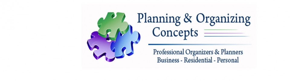 Planning & Organizing Concepts